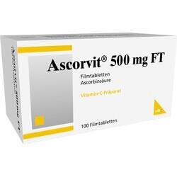 ASCORVIT 500MG FT