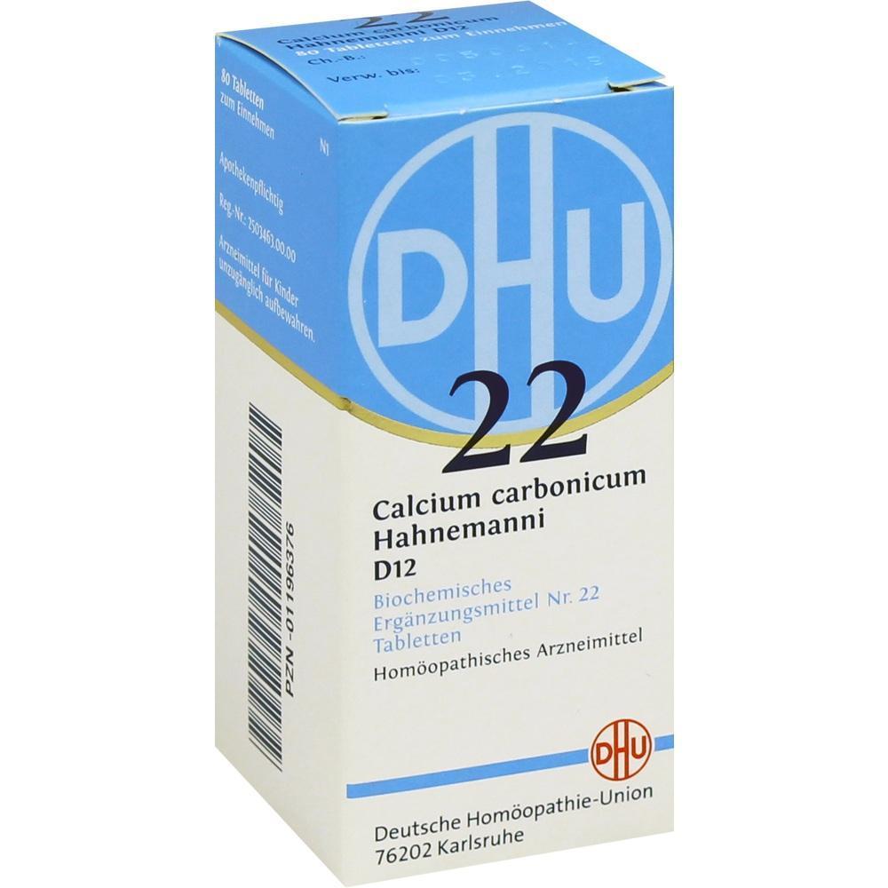 Biochemie Dhu 22 Calcium Carbonicum Hahnemanni D12